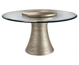 "Обеденный стол BAKER KATOUCHA 60"" DINING TABLE W/ 28"" LAZY SUSAN BY JACQUES GARCIA"